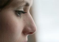 Woman closeup