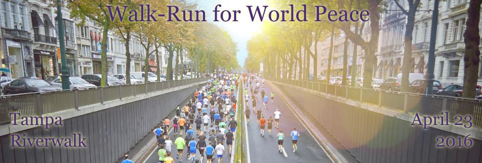 2016 Walk/Run for World Peace