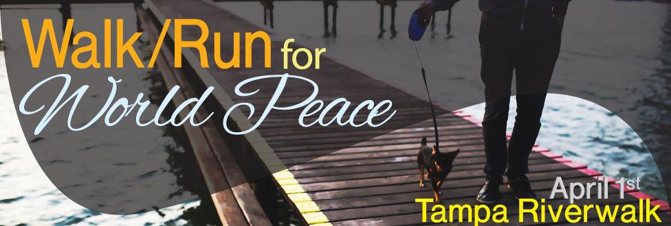 Walk/Run for World Peace April 1
