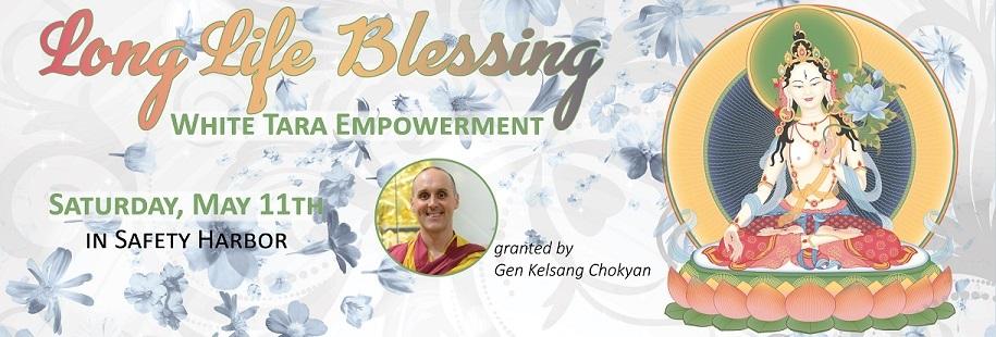 Long Life Blessing White Tara Empowerment