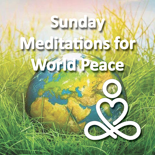 Sunday Meditations for World Peace with Kadam Michelle