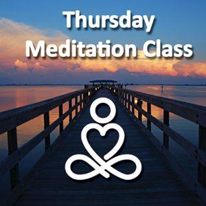 Thursday Meditation Class with Kadam Michelle